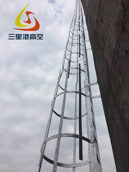 烟囱更换爬梯平台