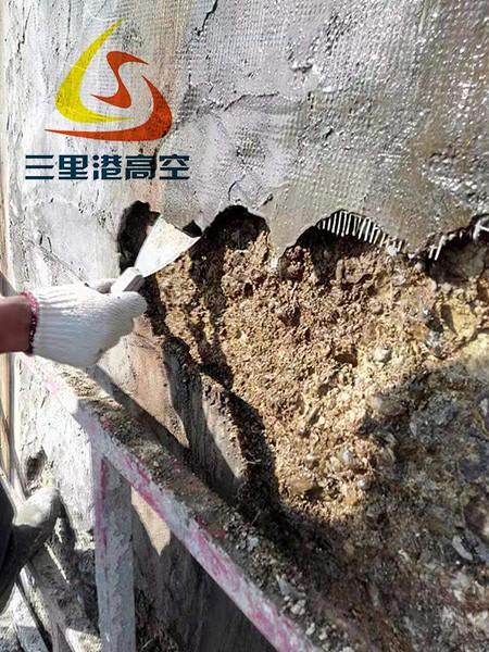 烟囱裂缝修补